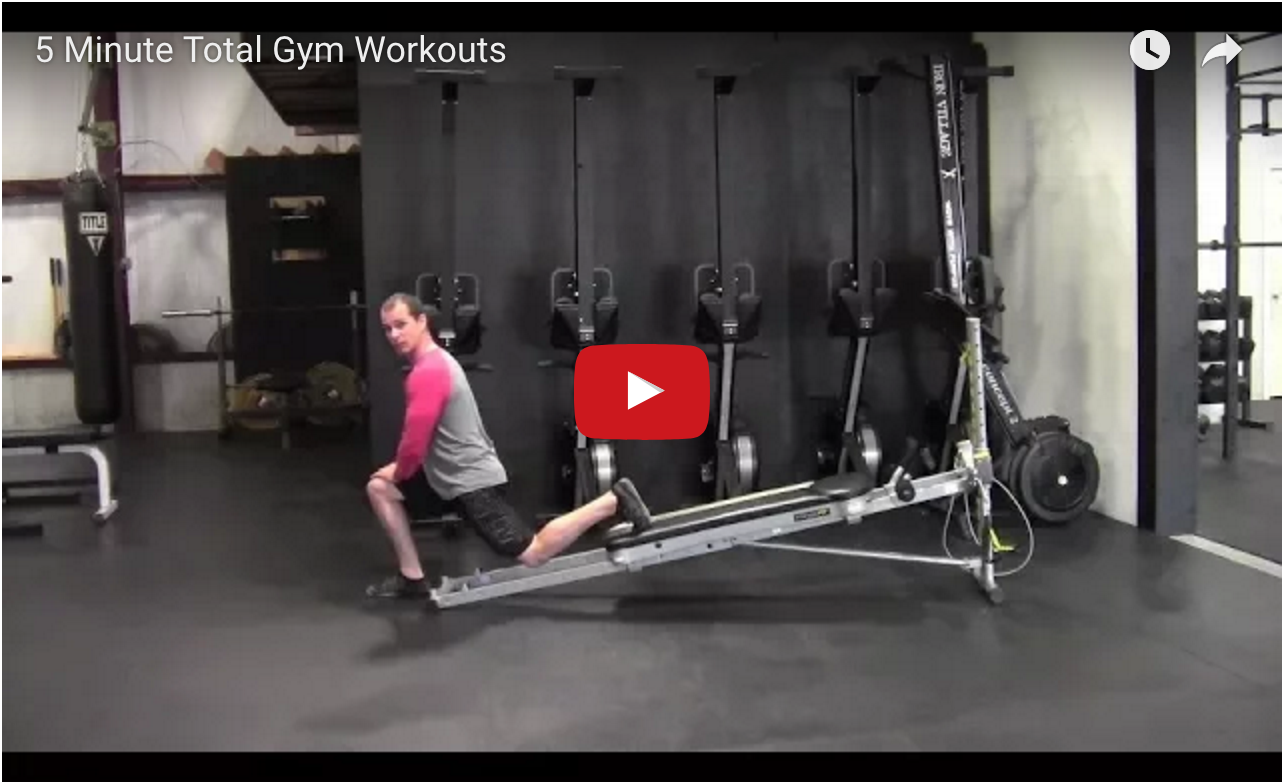 5 minute Total Gym Workouts video