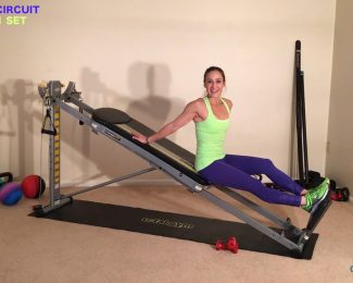 8 Minute Women's Total Gym Workout