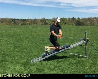 Active Stretching for Golfers using the Total Gym