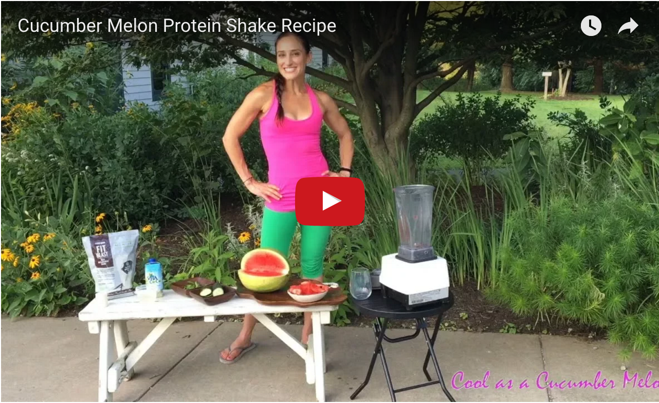 Cucumber Melon Protein Shake Recipe video