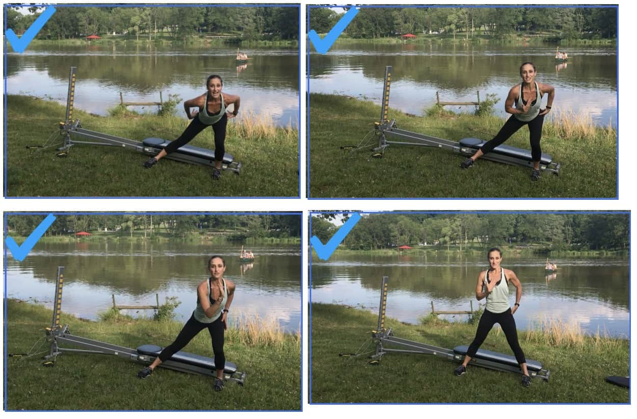 Lateral Lunge Proper Form
