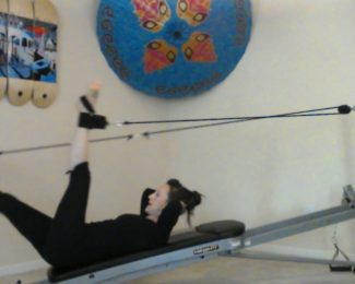 Legs, Knees and Calves - Pilates on the Total Gym