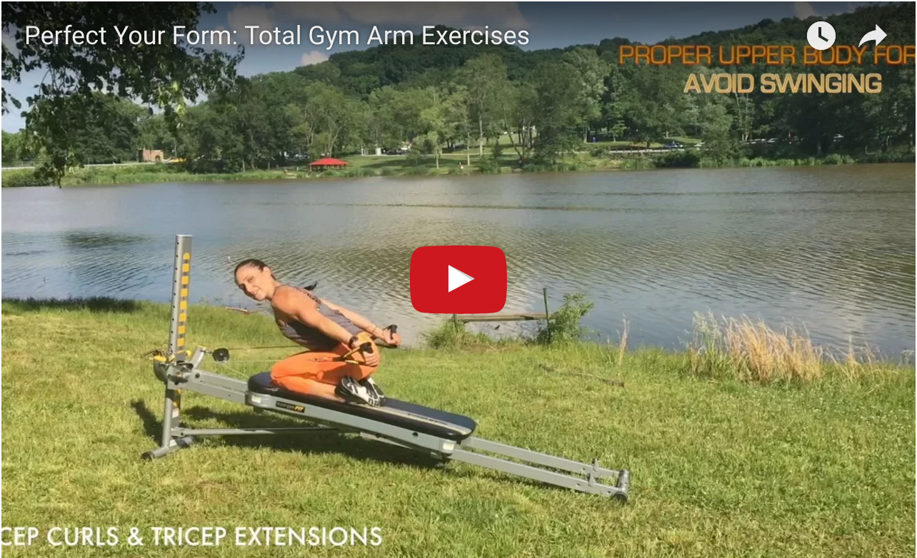 Perfect Your Form - Total Gym Arm Exercises video