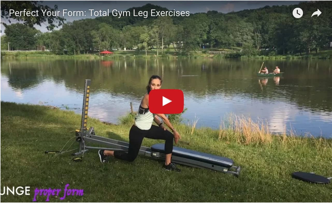 Perfect Your Form Total Gym Leg Exercises video