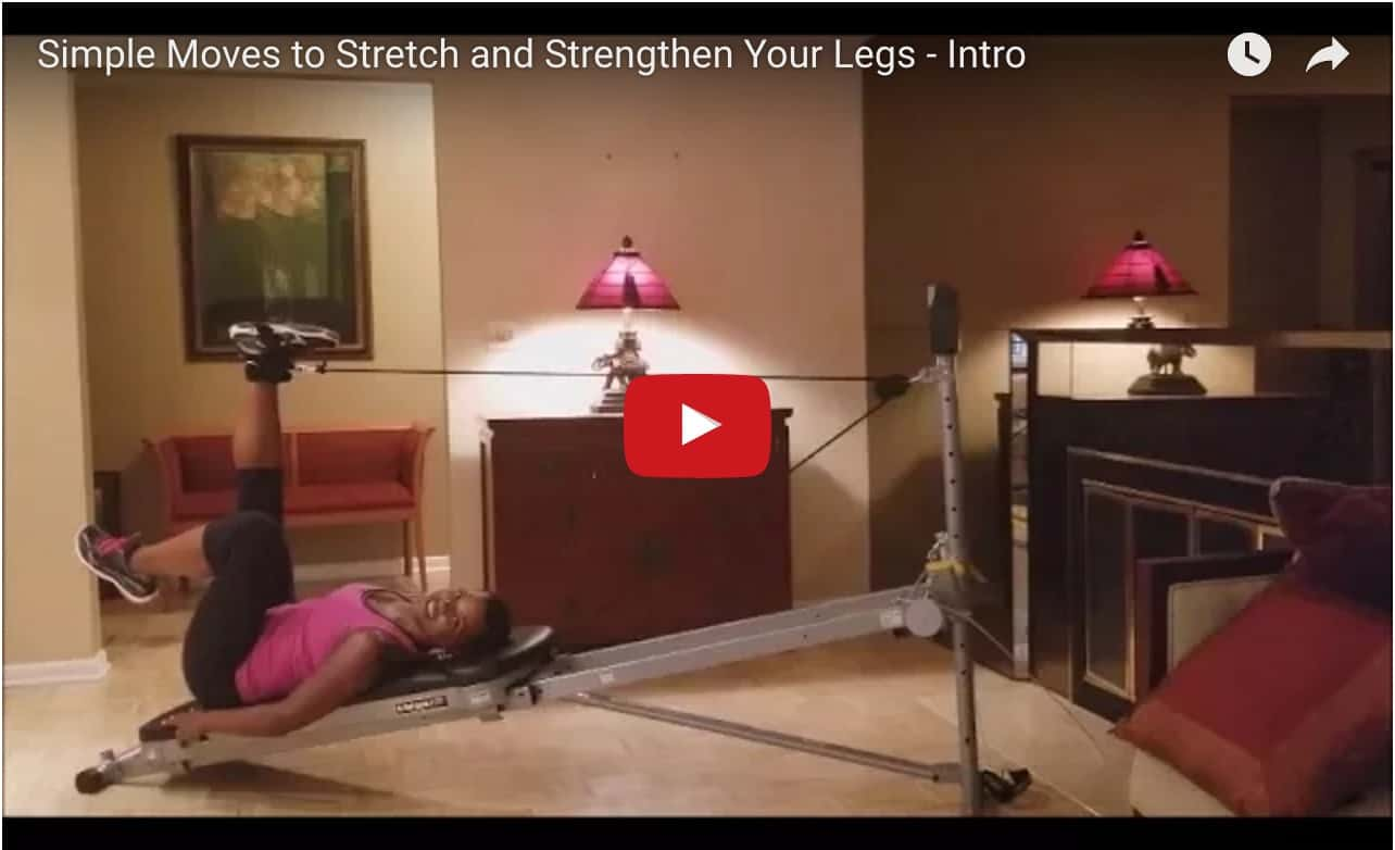 Simple Moves to Stretch and Strengthen Your Legs video