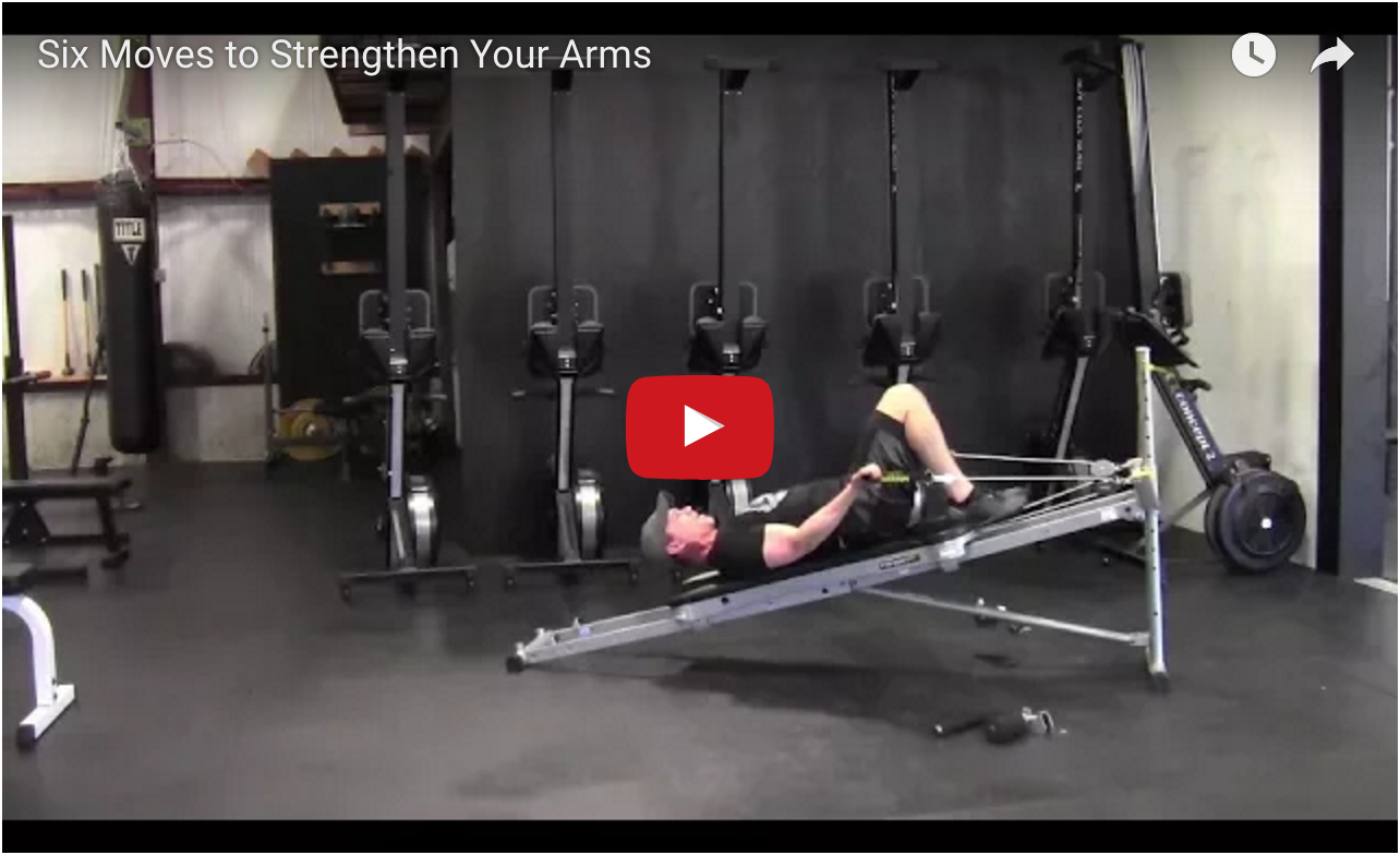 Six Moves to Strengthen Your Arms video