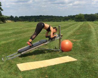 Total Gym AbCrunch Workout
