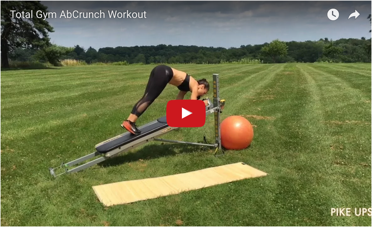 Total Gym AbCrunch Workout video