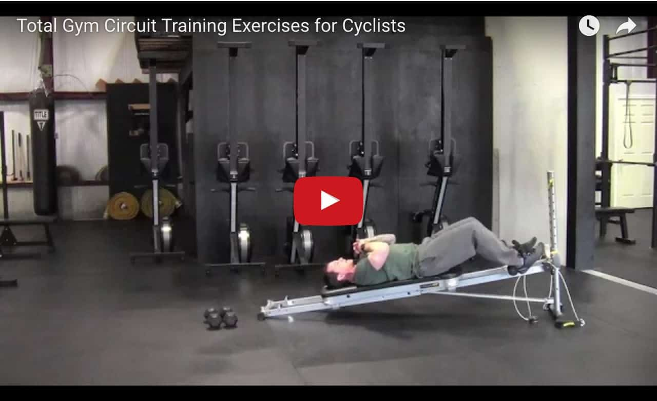 Total Gym Circuit Training Exercises for Cyclists video