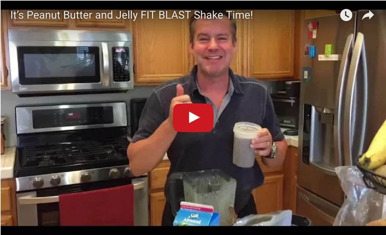 Total Gym FIT BLAST PB&J Shake video