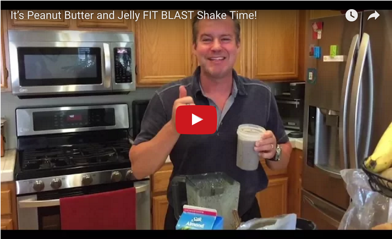 Total Gym FIT BLAST PB&J Shake video