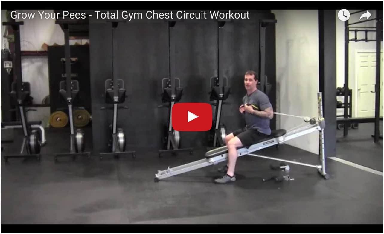 Total Gym Pecs Circuit Workout video
