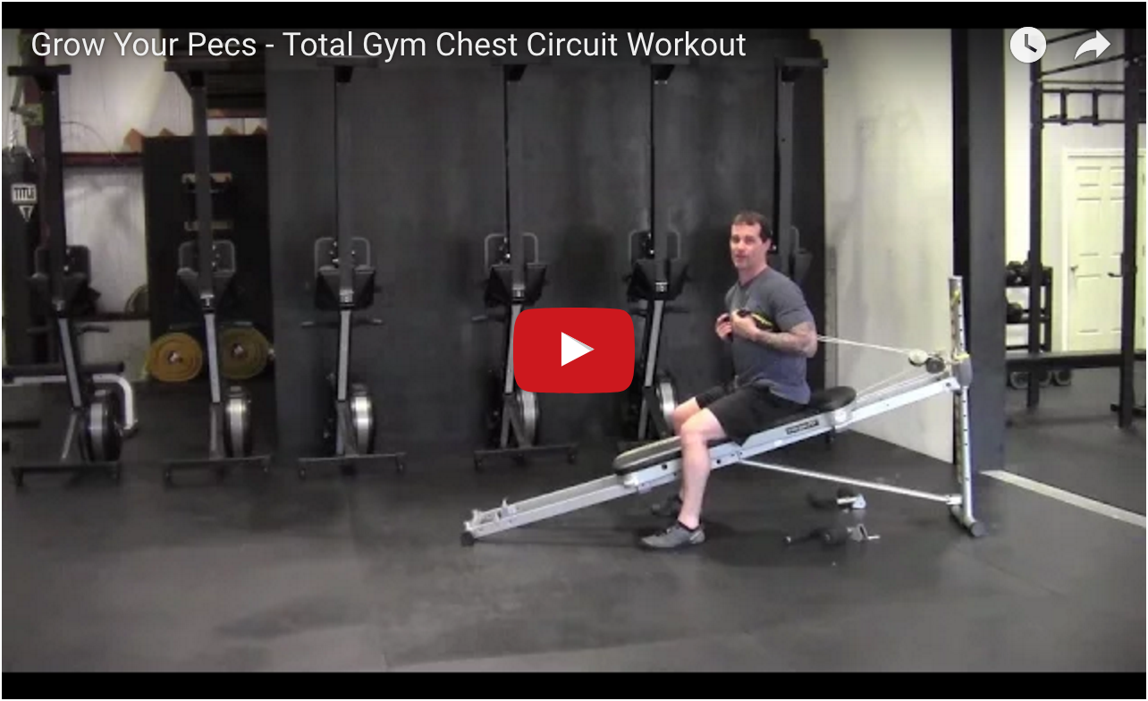 Total Gym Pecs Circuit Workout video