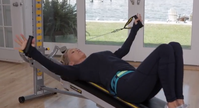 christie brinkley workout machine