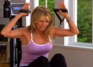 Christie Brinkley Pilates