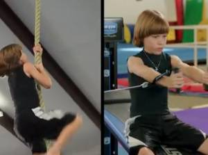 Chuck Norris Workout with Kids