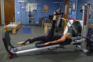 Total Gym Hamstring Stretch