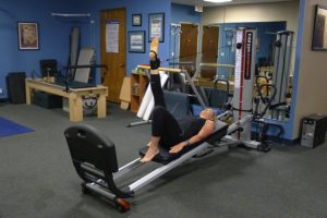 Total Gym Hip Extension