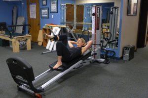 Total Gym Leg Thrust
