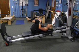 Total Gym Lower Back Stretch