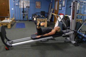 Total Gym Leg Circles