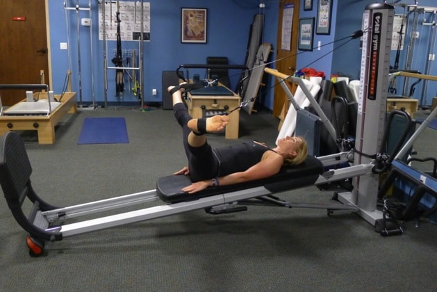 Total Gym Abductor Stretch