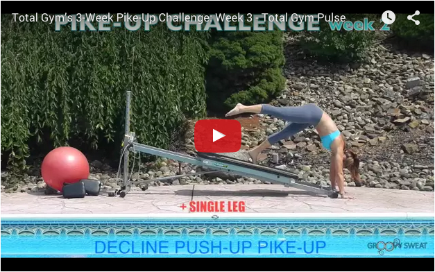 Pike Up Challenge week 3 video