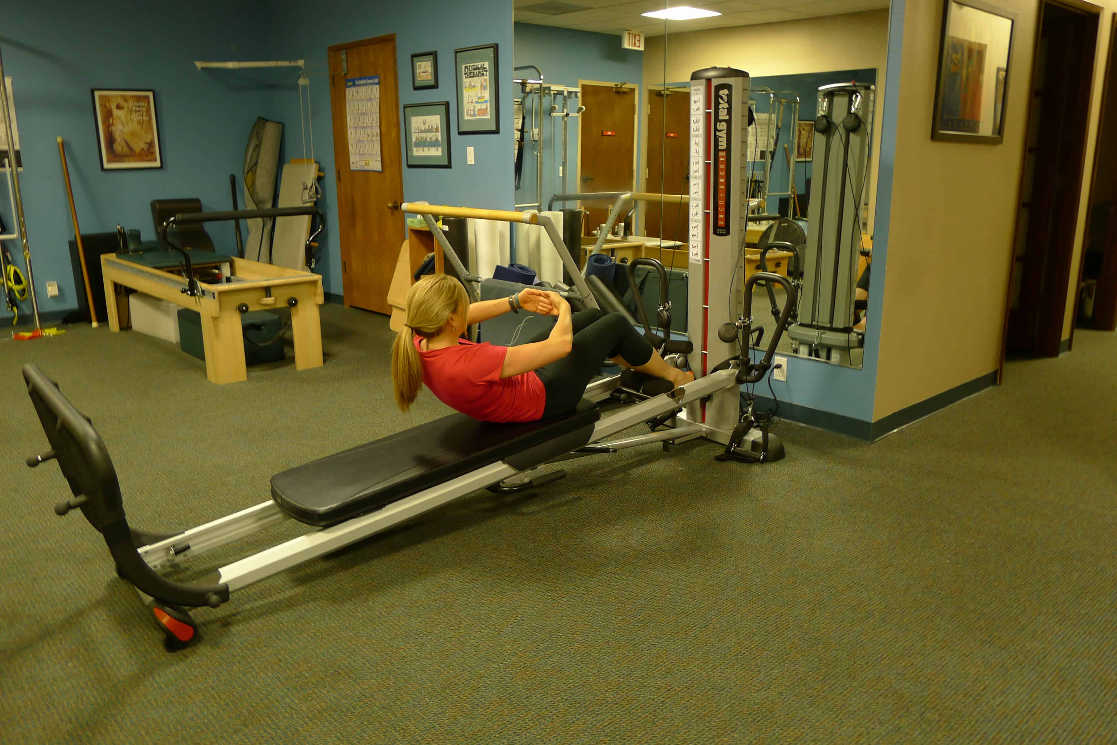 10 best pilates exercises on total gym for Gimnasio total