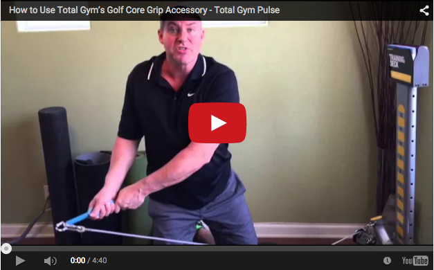 Total Gym Core Grip Golf accessory