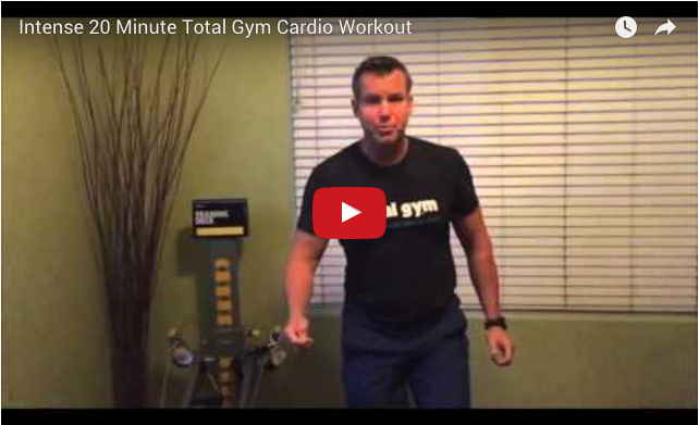 Total Gym 20 Minute Cardio Blast Workout