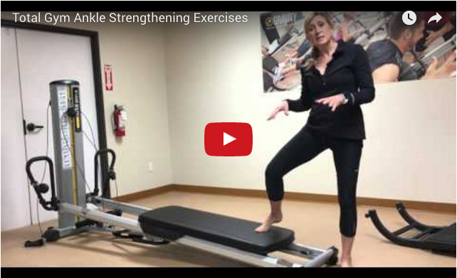 Total Gym Ankle Exercises Video