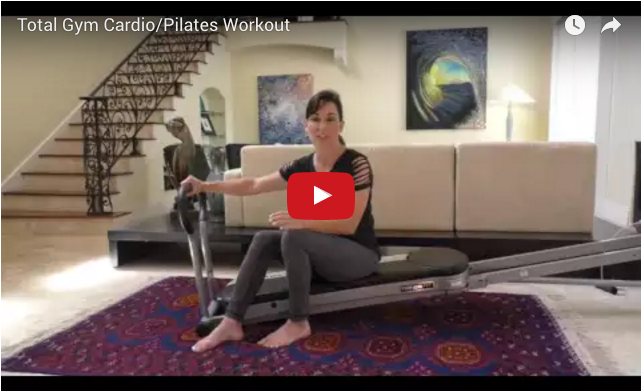Transform your home into an slt gym with total gym total for Gimnasio cardio pilates
