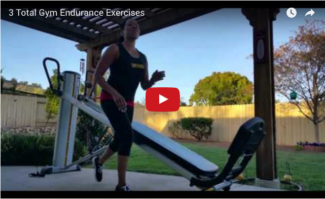Total Gym Endurance Exercises Video