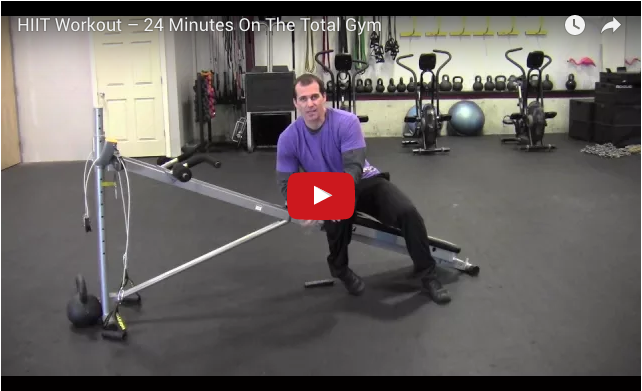 Total Gym HIIT video
