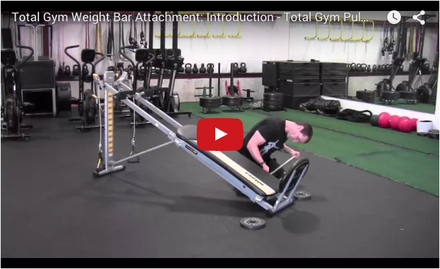 Total Gym Weight Bar Video