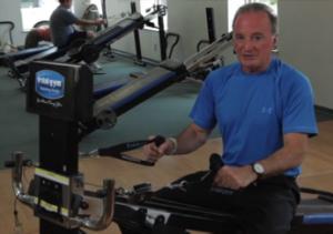 John Carleo Cardio Workout on the Total Gym