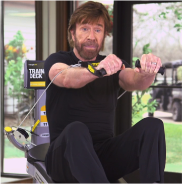 3 Simple Total Gym Exercises with Chuck Norris - Total Gym ...