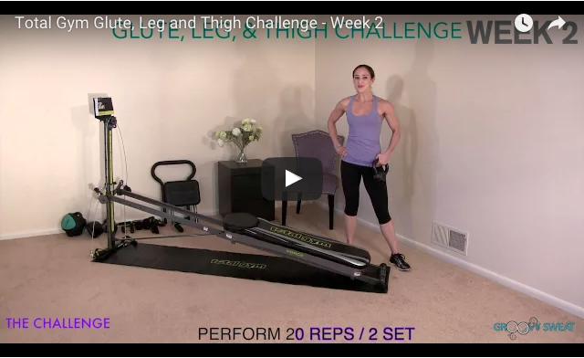 Glute Leg Thigh Challenge Week 2 Video