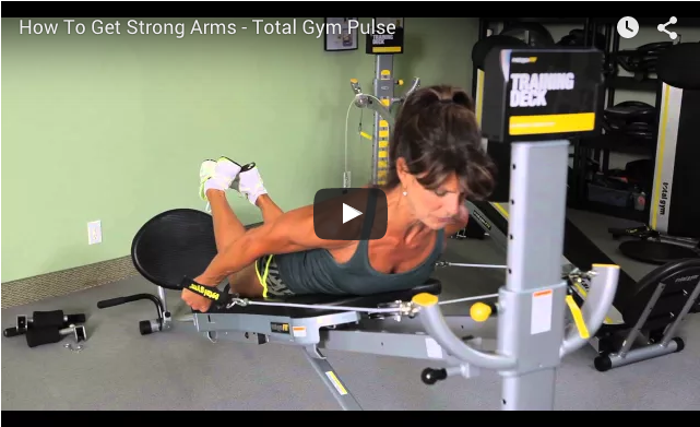 how to get strong arms