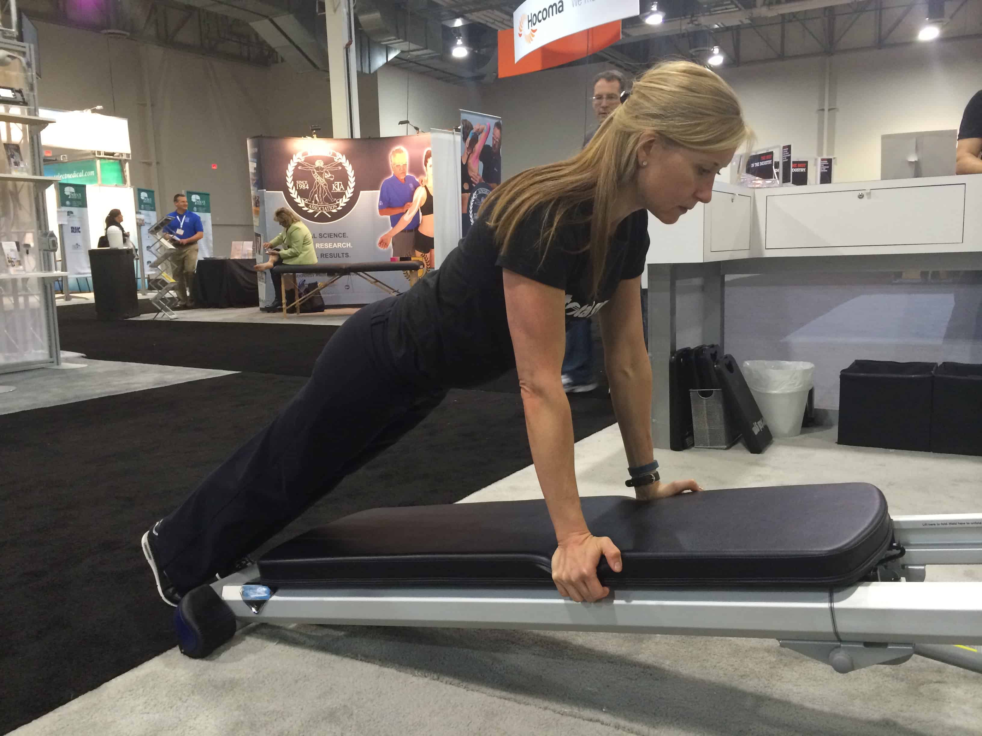 Core Planking Workout With Total Gym