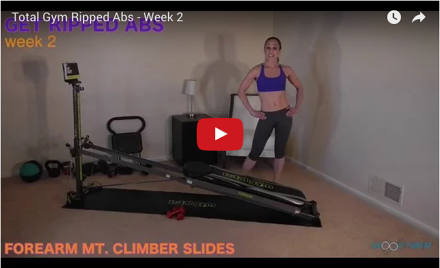ripped abs week 2 video