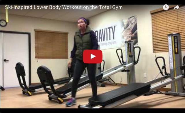 ski workout video