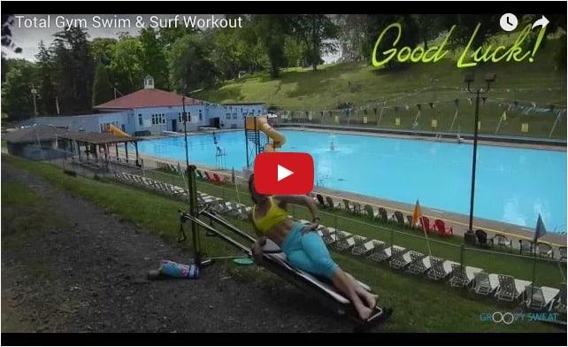 swim and surf video