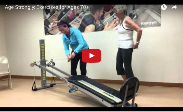 Age Strongly: Exercise Over Age 70 - Total Gym Pulse