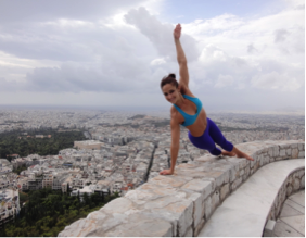 Side Planks in Athens, Greece!