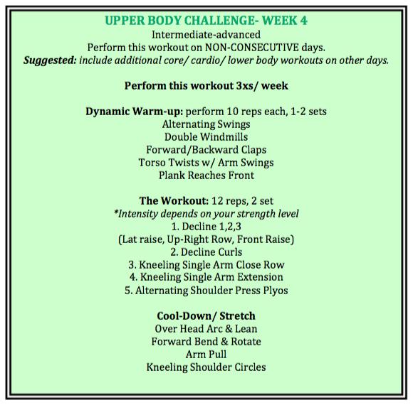 week 4 exercises