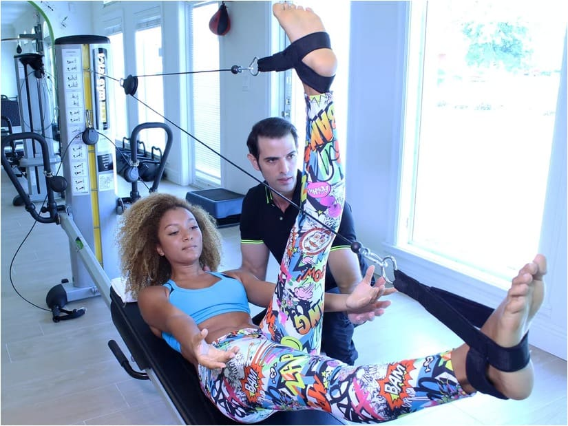 Climb Rocks, Defy Gravity, and Eat Sushi at This Little Havana Fitness Studio and Spa