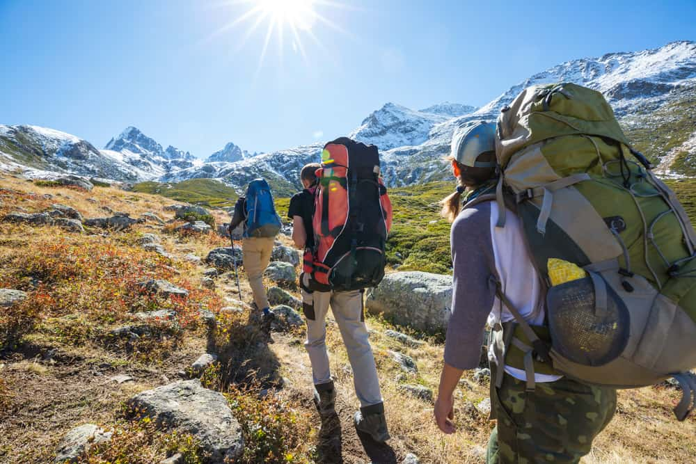 Backpacking for Fitness and Weight loss