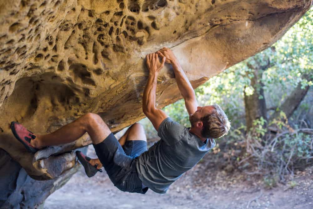 What is Bouldering and how can you mimic the moves on Total Gym?