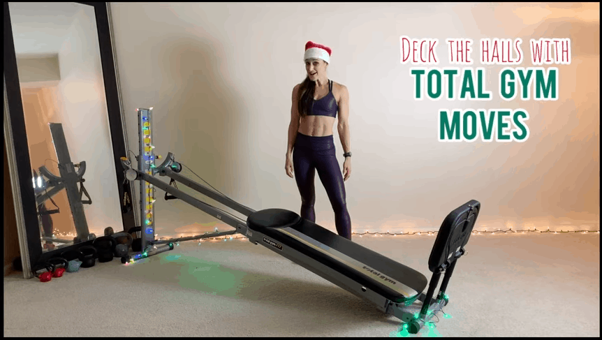 Deck the Halls with Total Gym Moves